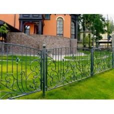Кованный забор 49
