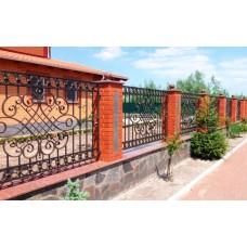 Кованный забор 51