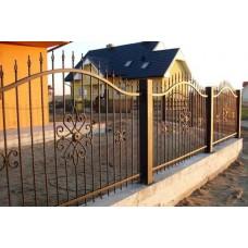 Кованный забор 52