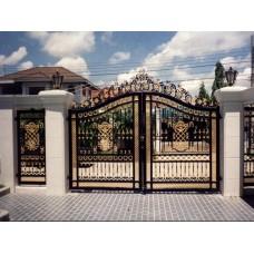 Кованные ворота 88