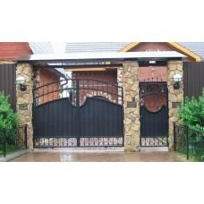 Кованные ворота 89