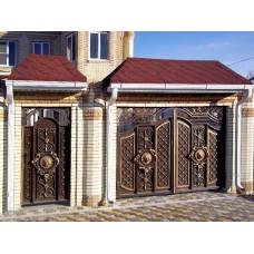 Кованные ворота 90