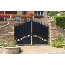 Кованные ворота 94