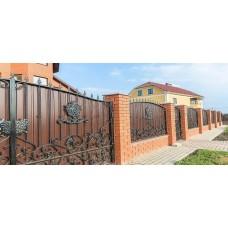 Кованные ворота 95