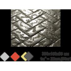 «БРУСЧАТКА» тротуарная плитка вибролитьевая (под мрамор)