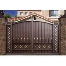 Кованные ворота 77