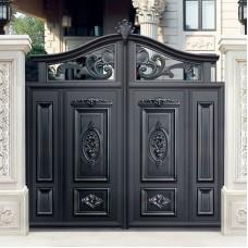 Кованные ворота 79