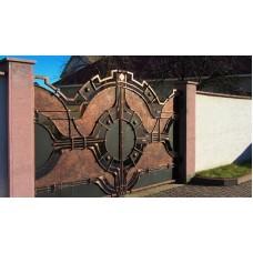 Кованные ворота 80