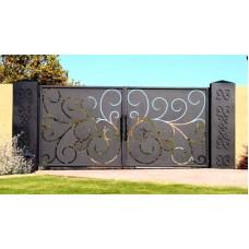 Кованные ворота 81