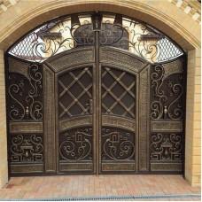 Кованные ворота 91