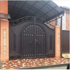 Кованные ворота 92