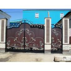 Кованные ворота 93
