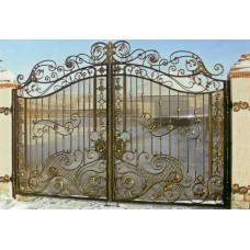 Кованные ворота 96