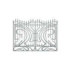 Кованный забор 21-11