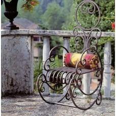 Кресло качалка, металл, кованое