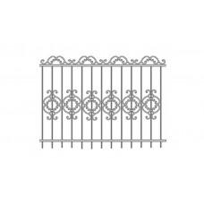 Кованный забор 21-18