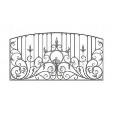 Кованный забор 21-20