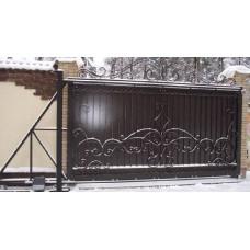Кованные ворота 1А