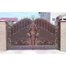 Кованные ворота 3Б