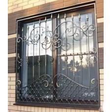 Решетка кованная на окна №B9