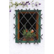Решетка кованная на окна №B2