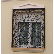 Решетка кованная на окна №B5