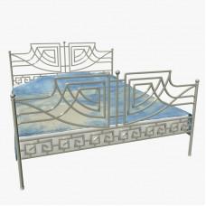Кованная кровать Ф2