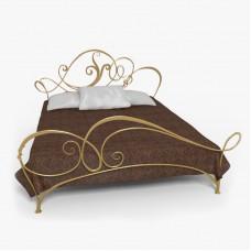 Кованная кровать Ф4