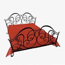 Кованная кровать Ф6