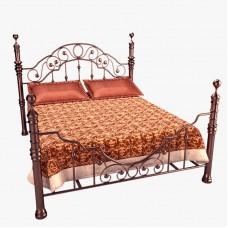 Кованная кровать Ф9