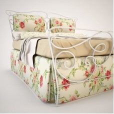 Кованная кровать Ф12
