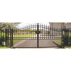 Кованные ворота №886