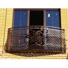 Кованные балконы №23