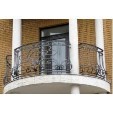 Кованные балконы №32