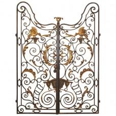 Ворота кованные №65