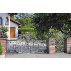 Ворота кованные №70