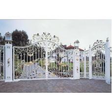 Ворота кованные №71
