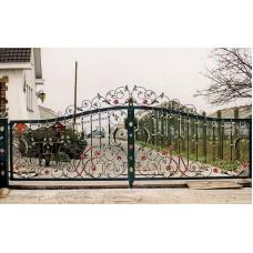 Ворота кованные №73