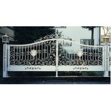 Ворота кованные №79