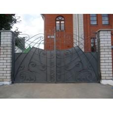 Ворота кованные G1