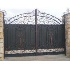 Ворота кованные G2