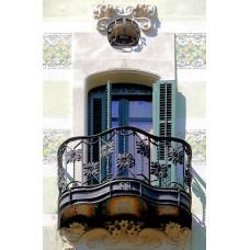Кованные балконы A1