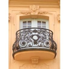 Кованные балконы A2