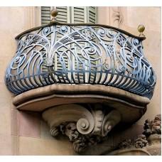 Кованные балконы A4