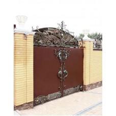 Ворота кованные Ф23
