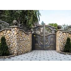 Ворота кованные Ф24