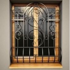 Решетка кованная на окна Q5