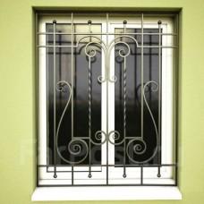 Решетка кованная на окна Q13