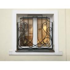 Решетка кованная на окна Q14