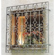 Решетка кованная на окна Q17